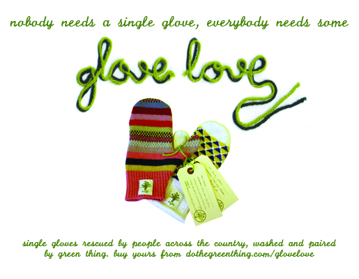 All you need is glove: yours for just £5 (plus VAT & packaging)